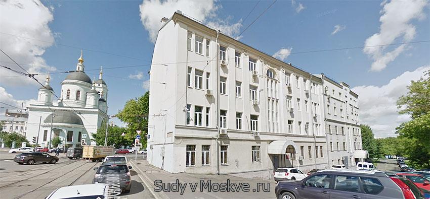Лефортовский районный суд г Москвы - фото здания суда