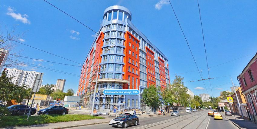 Мещанский районный суд г Москвы - фото здания суда