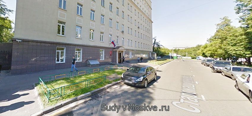 Нагатинский районный суд г Москвы - фото здания суда
