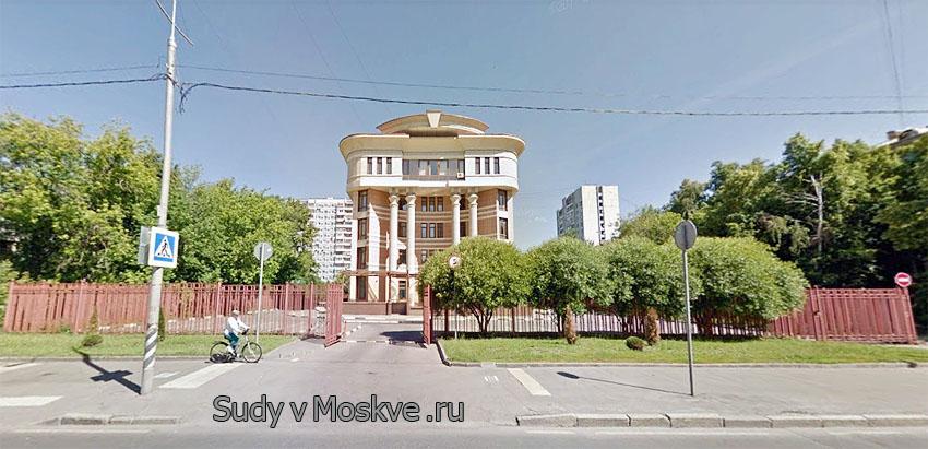 Останкинский районный суд г Москвы - фото здания суда