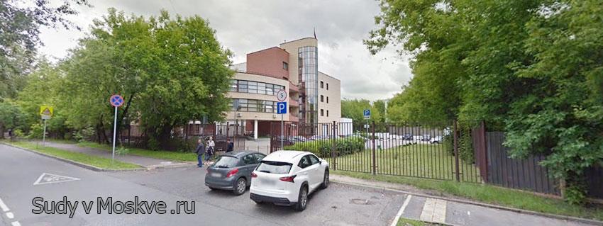Преображенский районный суд г Москвы - фото здания суда