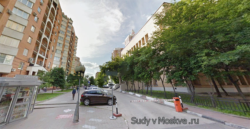Пресненский районный суд г Москвы - фото здания суда