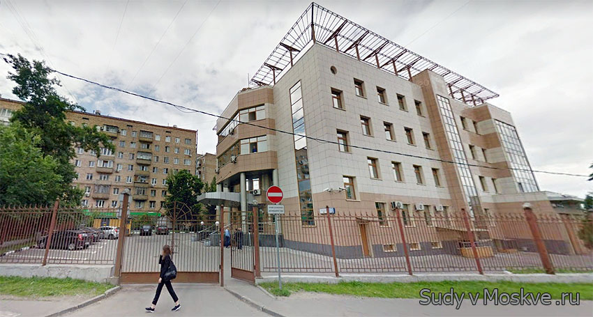 Симоновский районный суд г Москвы - фото здания