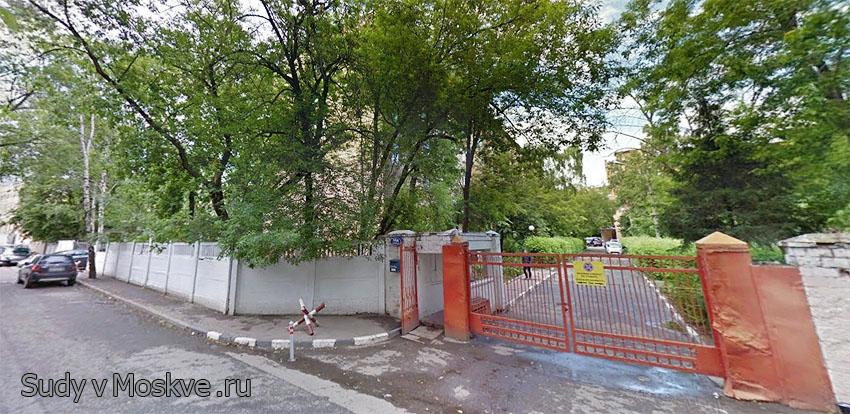 Московский гарнизонный военный суд г Москвы - фото здания