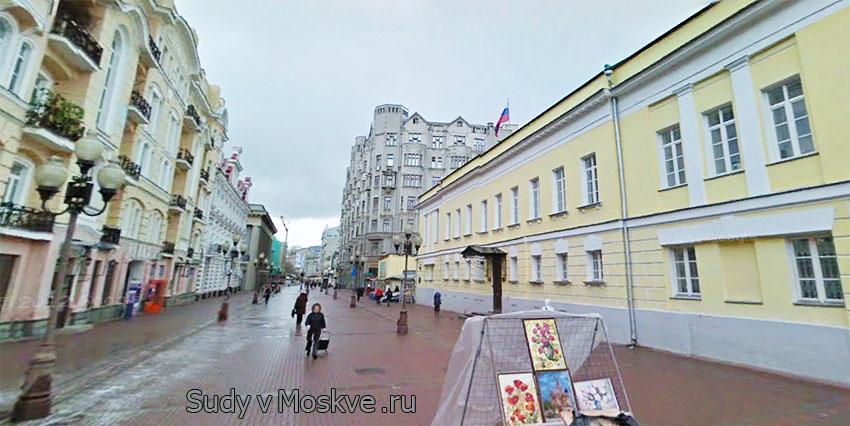 Московский окружной военный суд г Москвы - фото здания